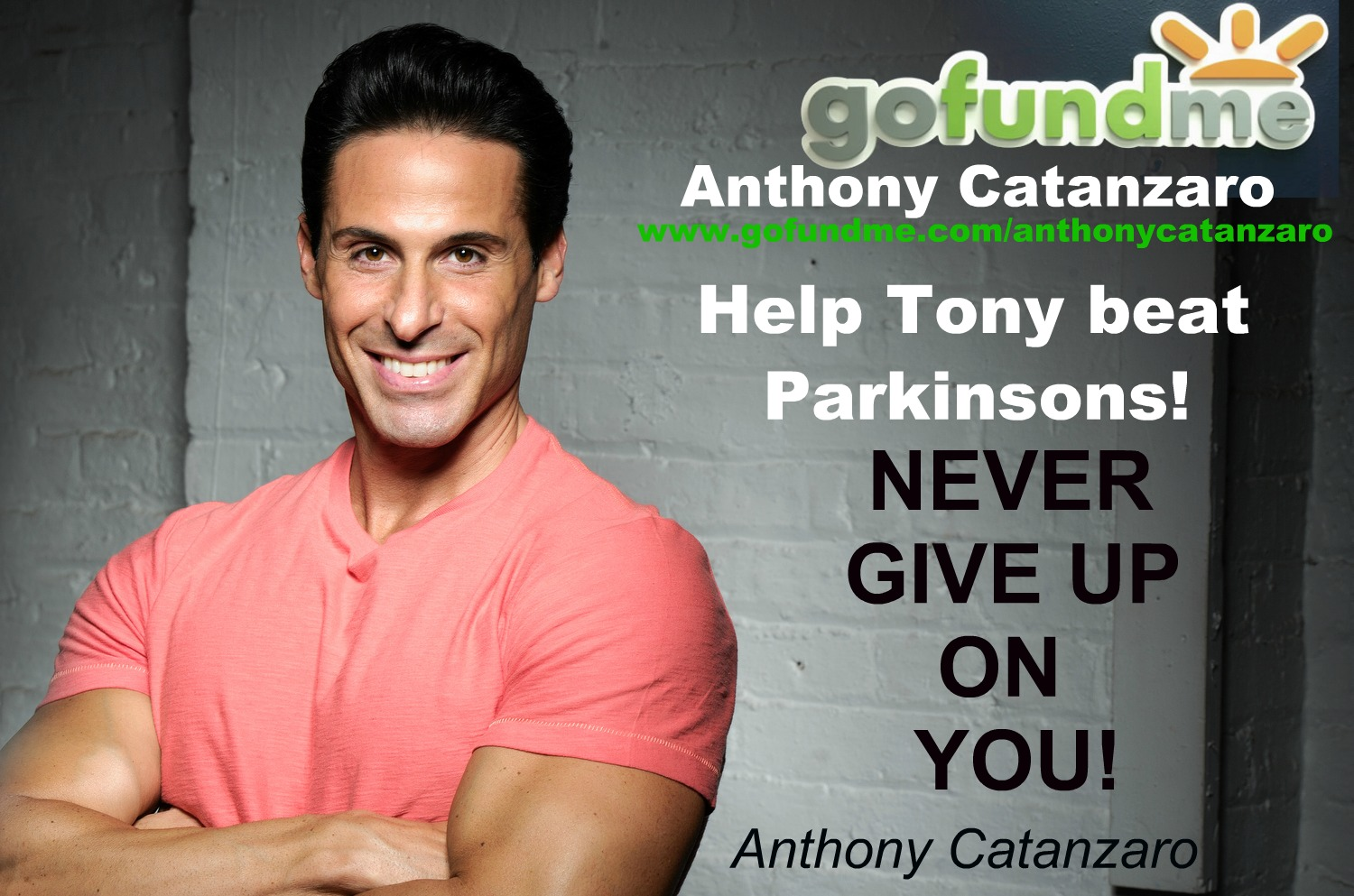 Help Tony Beat Parkinsons!